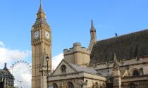 Big Ben und London Eye