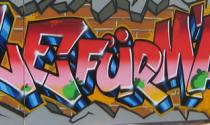 Graffitti Schule für Mädchen